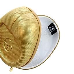 Slappa SL-HP-10 HardBody PRO Full Sized Headphone Case, Gold