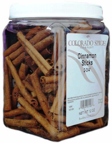 Colorado Spice Cinnamon, Whole Sticks 2-3/4', 12 Ounce Jar