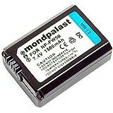 Mondpalast ® Remplacement Batterie NP-FW50 1080mah avec infochip pour Sony NEX-5 NEX-5R NEX-5N NEX-3 NEX-3N NEX-7 NEX-C3 DLSR A33 DLSR A55 E mount A5000 A6000 A6100