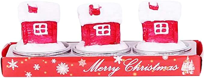 Superb Ma87 Christmas Party Cartoon Candles Happy Birthday Cake Topper Funny Birthday Cards Online Overcheapnameinfo