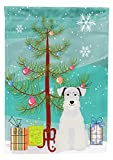 Cheap Caroline's Treasures BB4178GF Merry Christmas Tree Miniature Schnauzer White Garden Flag, Small, Multicolor
