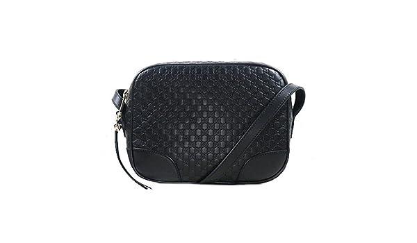 519ea9d7aaf9 Amazon.com: Gucci Bree Guccissima shoulder bag Chocolate Bag: Shoes