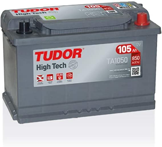 Batterie HIGH TECH TUDOR TA770 12V 77Ah 760A Batteries