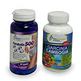 Garcinia Cambogia + Forskolin 2000mg Standardized 20% Extract Potency Weight Management Appetite Suppressant All-Natural Ingredients Premium Strength Order Risk Free Today!