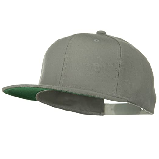 2fbac0c058a63a Wool Blend Prostyle Snapback Cap - Silver OSFM at Amazon Men's ...