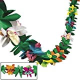 Toys : Tissue Flower Garland by Fun Express (1-Pack)