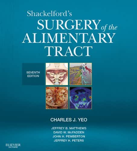 Shackelford's Surgery of the Alimentary Tract (Shackelfords Surgery of the Alimentary Tract)