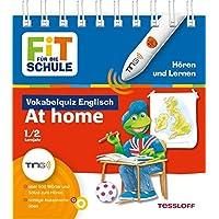 Vokabelquiz Englisch - At home (zuhause): Über 500 Wörter und Sätze zum Hören, richtige Aussprache üben (Antippen, Spielen, Lernen!)