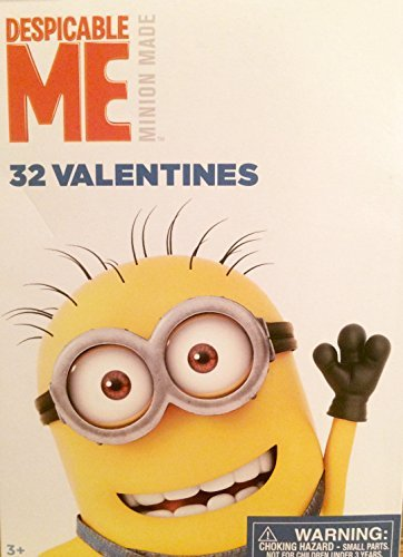 Minions Despicable Me Movie Valentines Day Cards Box Set For -