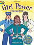 Girl Power Coloring Book: Cool Careers That Could Be for You! (Dover Coloring Books)