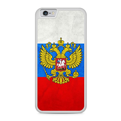 Russland Russia Apple iPhone 6 / 6S SILIKON WT Hülle Cover Case Schutz Schale Rossiya Flagge Flag