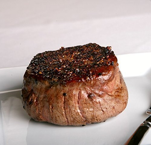 10 (6 oz.) Filet Mignon Steaks (Steak Meat)