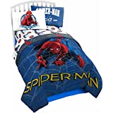 Marvel Spiderman Wall Crawler Twin Reversible Comforter