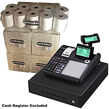 eposbits® marca rollos para Casio SE-C450 SEC450 seg se C450 C 450 ...