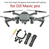 Front View Night Navigation Searchlight LED Lighting for DJI Mavic pro (For DJI MAVIC PRO)