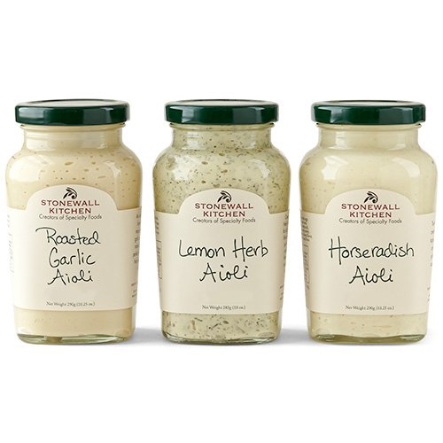 - Stonewall Kitchen Aioli Collection (3 pc)