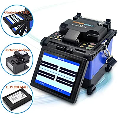 SPEEDWOLF High Precision Fusion Splicer Kit with Optical Fiber Cleaver