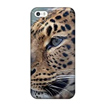 Hot Style OzKyOBy24762VpCuU Protective Case Cover For Iphone5/5s(leopard)