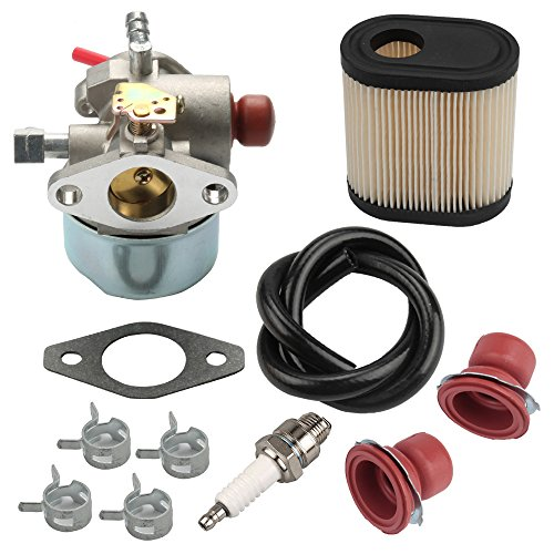 Harbot LV195EA 640350 Carburetor for Tecumseh 640303 640271 LEV105 LEV120 LEV100 Toro 20016 20017 20018 20012 22 inch Recycler Lawn Mower with Air Filter Tune Up Kit