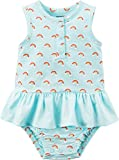 Carter's Baby Girls' Rainbow Print Tutu Sunsuit 3