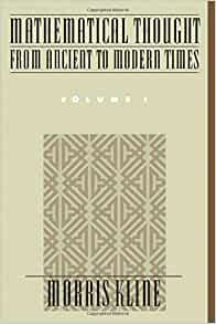 Mathematical Thought From Ancient To Modern Times Vol 1 border=