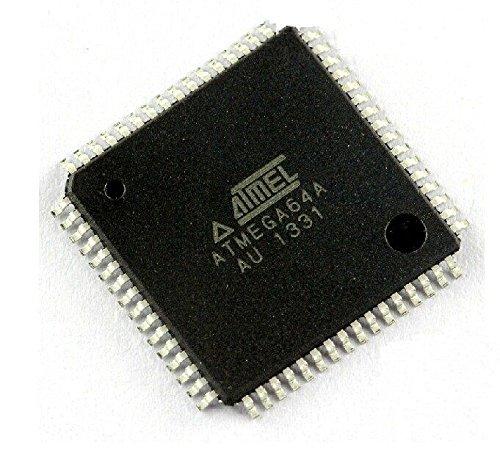 Exiron 1PCS ATMEGA64A-AU ATMEGA64A IC MCU 8BIT 64KB FLASH 64TQFP