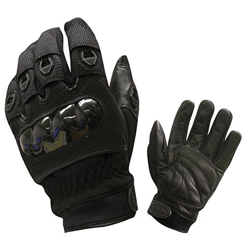 Olympia 734 Digital Protector Motorcycle Sport Gloves (Black, Large)