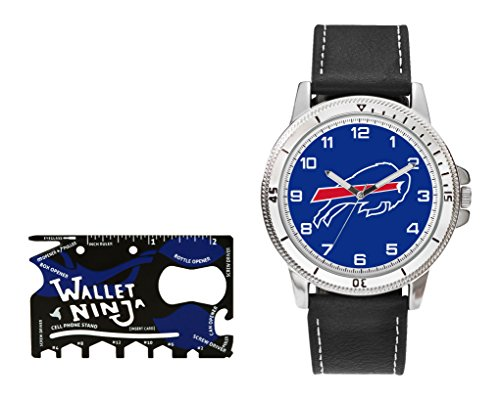 Rico NFL Buffalo Bills Watch and Wallet Ninja