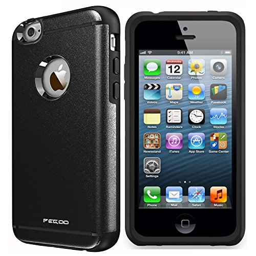 Case for iPhone 4,High Impact Heavy Duty Armor Hybrid Dual Layer Hard PC Outer Shell and Soft TPU Inner Defender Bumper Protective Case for Apple iPhone 4 4S (Black) (4g Bumper)