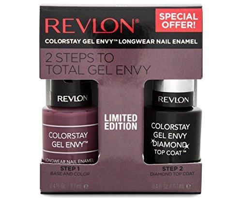 Revlon ColorStay Gel Envy Nail Enamel & Top Coat Value Pack, 720 Hold 'Em -