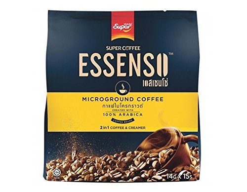 15 Sticks in Pack: Essenso, 2 in 1 Microground Coffee, 210 (Replacement Urn Lid)