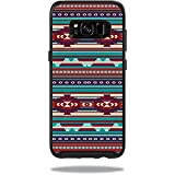 MightySkins Skin Compatible with OtterBox Symmetry Samsung Galaxy S8 Case - Southwest Stripes   Protective, Durable, and Unique Vinyl wrap Cover   Easy to Apply, Remove   Made in The USA