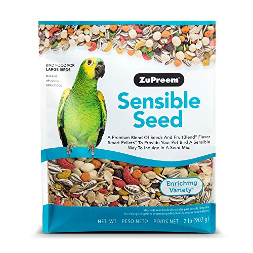 Macaw Bird Treats (ZuPreem Sensible SeedTM Bird Food for Large Birds)