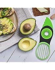 Aiyola Avocado Slicer,3 In 1 Avocado Slicer Multifunctional Avocado Tool Fruit Peeler Kitchen Tools for Salad and Sushi