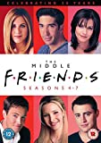 Friends: The Middle (Seasons 4-7) [20th Anniversary Edition] [DVD] [1997]