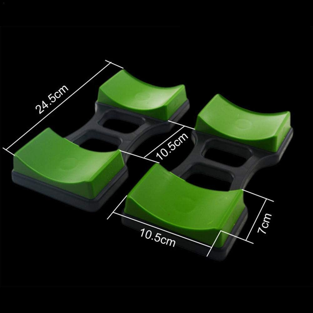 1Pair Dumbbell Bracket Placement Frame Stand Floor Protection Fitness Training Device Weight Rack for Dumbbells for Workout Dumbbell Storage Stand Jiang Hui Dumbbell Rack Dumbell Holder