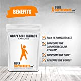 BulkSupplements.com Grape Seed Extract Capsules