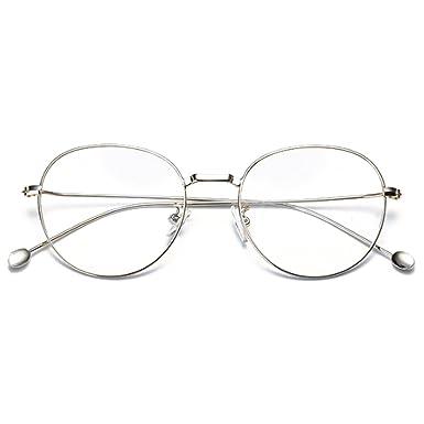 224ad7fc16 Huicai Homme femme myopes lunettes Rétro myopie lunettes rondes métal  lunettes cadre