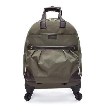 Maleta con ruedas para viaje Bolsa de vuelo impermeable, multifuncional y expandible, maleta con