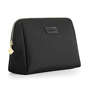CHICECO Large Makeup Bag Toiletry Bag for Women Skincare Cosmetic Pouch – Black
