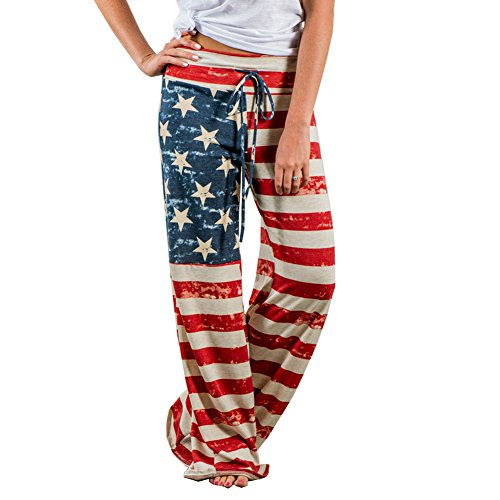 Womens Cute Cotton Pants - 5