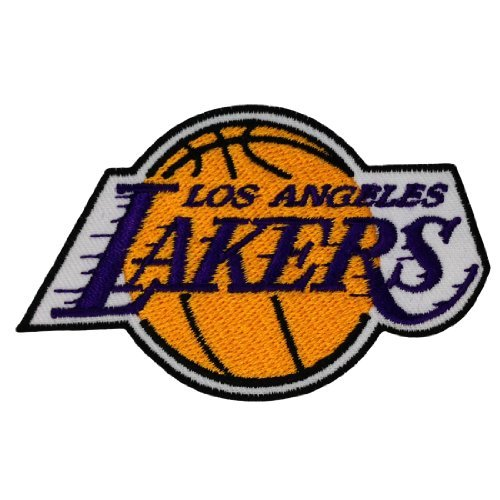 Los Angeles Lakers Logo Embroidered Iron Patches