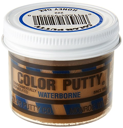 Color Putty Company 222 Water-Based Formula, 3.68-Ounce, Honey Oak