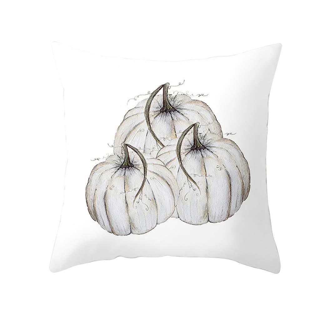 Halloween Pillow Covers 17.72 // 17.72=45cm //45cm, P Decorative Pumpkin Throw Pillow Case Fall Pillowcases Sofa Cushion Cover Clearance Sale