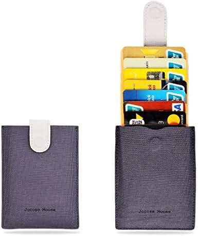 RFID Minimalist Slim Wallets - Credit Card Holder Front Pocket Wallet for Men Women