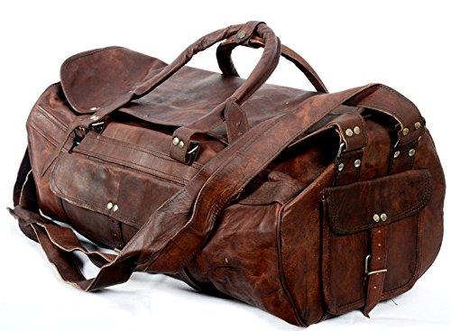 cool stuff leder weekender sporttasche weekender bag. Black Bedroom Furniture Sets. Home Design Ideas