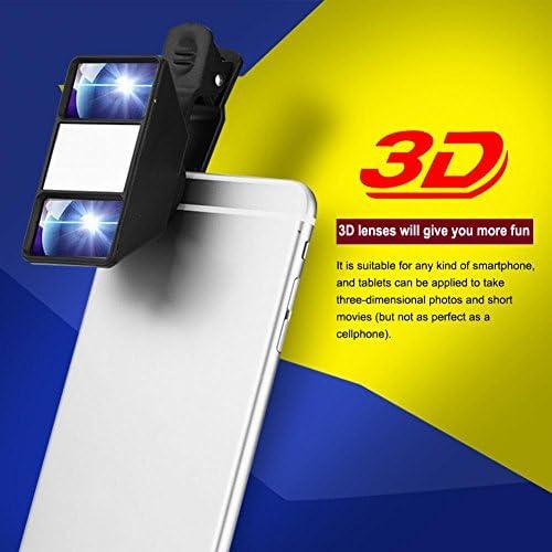Richer-R Lentes para Móviles,3D Lente de Cámara Portátil para ...