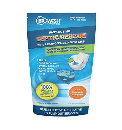 BiOWiSH Technologies Septic Rescue - 100109