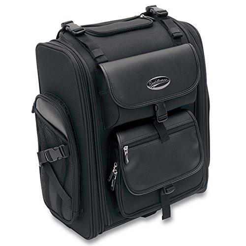 Saddlestow Luggage (Saddlemen Saddlestow S2200E Expandable Sissy Bar Bag - HC-15-0080)