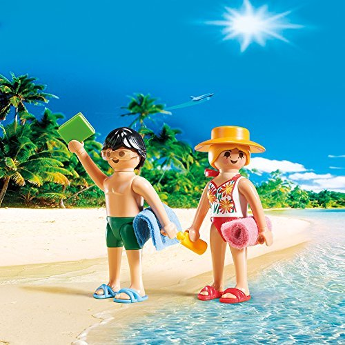 PLAYMOBIL Beachgoers Duo Pack